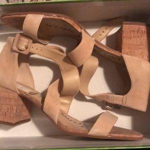 New Sam Edelman block heel sandals.